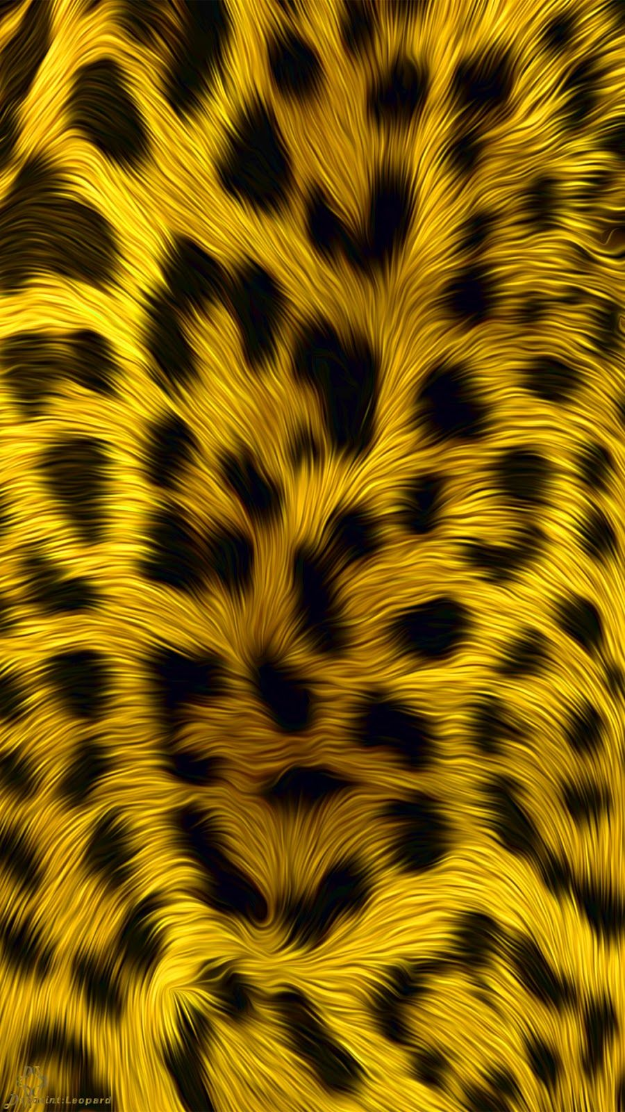 Fabric Art Pattern Leopard Skin Illustration Art Free Download Wall