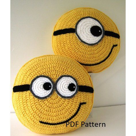 Color pack - 4 Crochet Pillow Patterns for the price of 3 - orange green blue yellow - crochet patterns for animal cushions