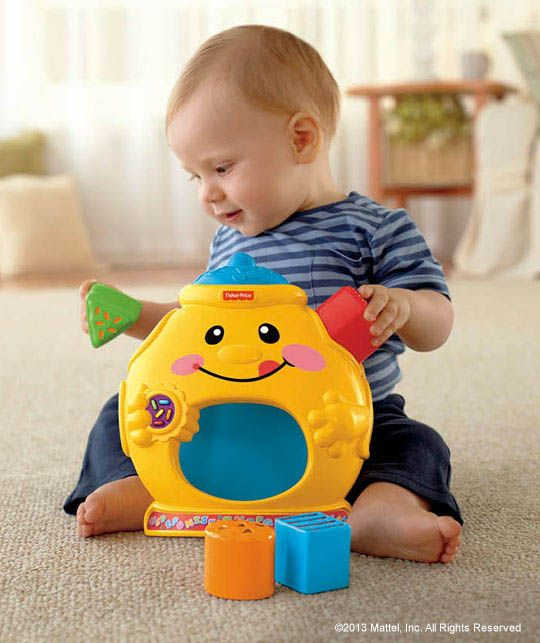 A Cookie Jar Toy That Helps Your Baby Learn About Shapes