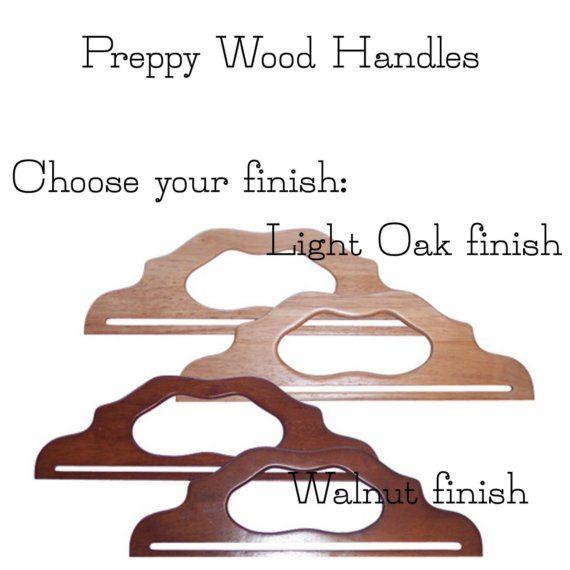 Preppy Wood Handle Set on Etsy, 18,12 €