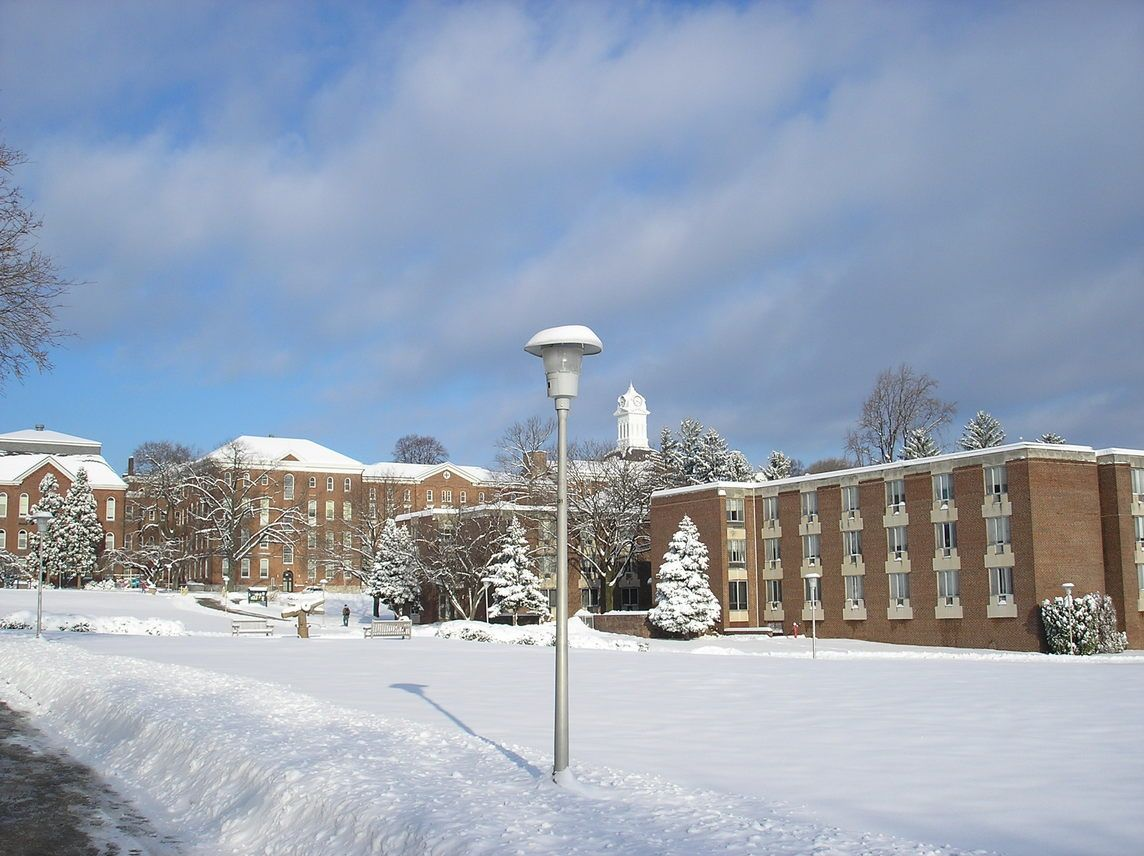 Kutztown University Of Pennsylvania >> Kutztown University In The Winter Kutztown Pennsylvania