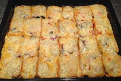 Raclette-Reste Auflauf 1