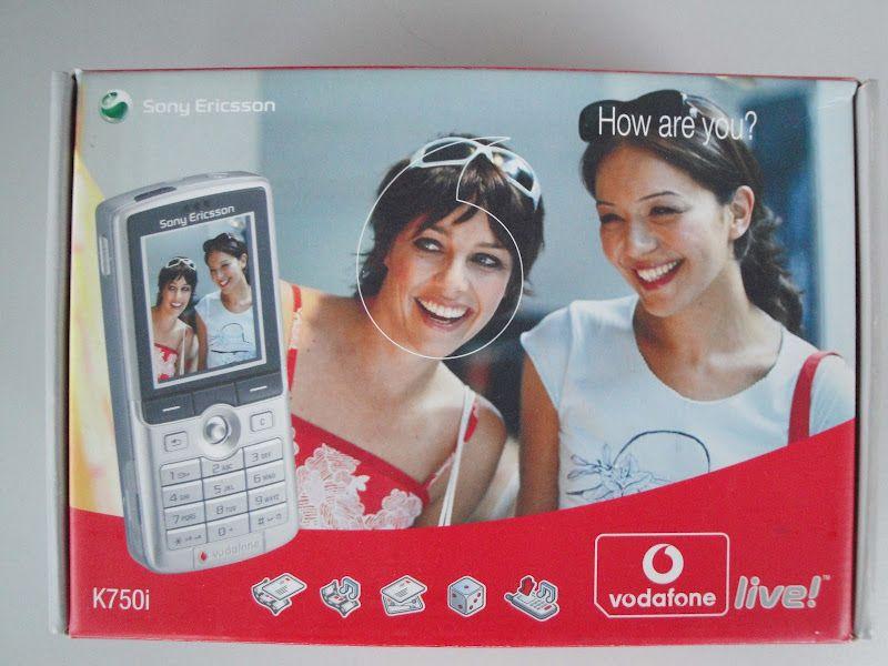 Vodafone Live Sony Ericsson K750i Box