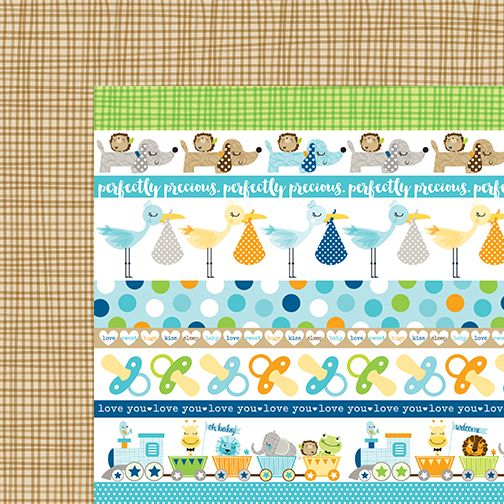 Bella+Blvd+-+Cute+Baby+Boy+Collection+-+12+x+12+Double+Sided+Paper+-+Borders+at+Scrapbook.com