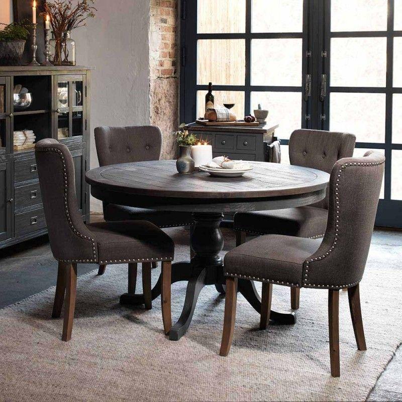 Runder Landhaus Tisch 4 Stuhle Dopeka 5 Teilig Runder