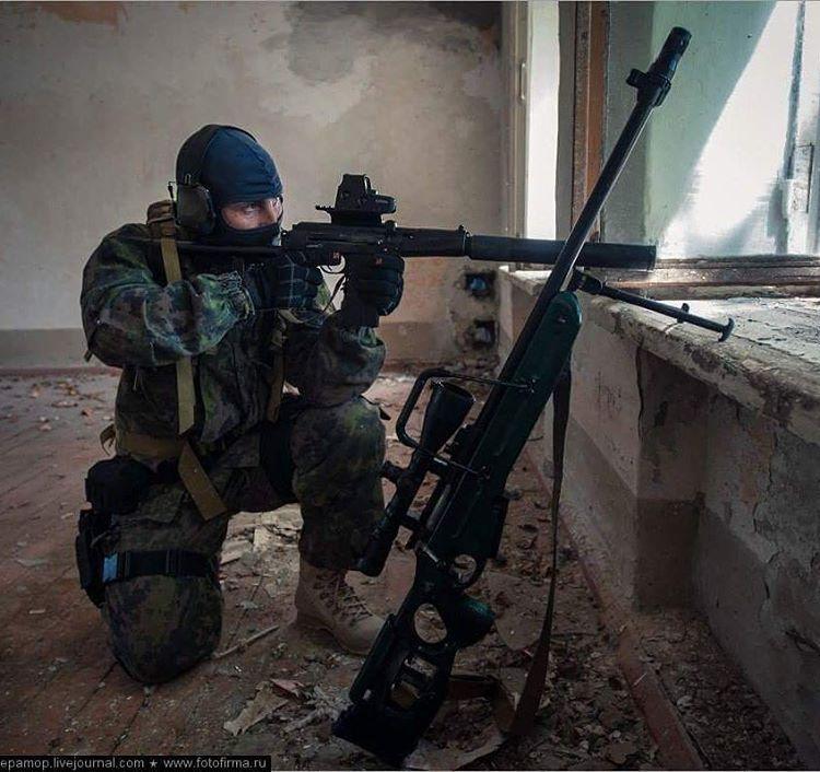 Russian Spetsnaz Photo Russiansoldier001: Spetsnaz SOBR Operator During Training