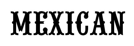 Afbeeldingsresultaat Voor Mexican Font