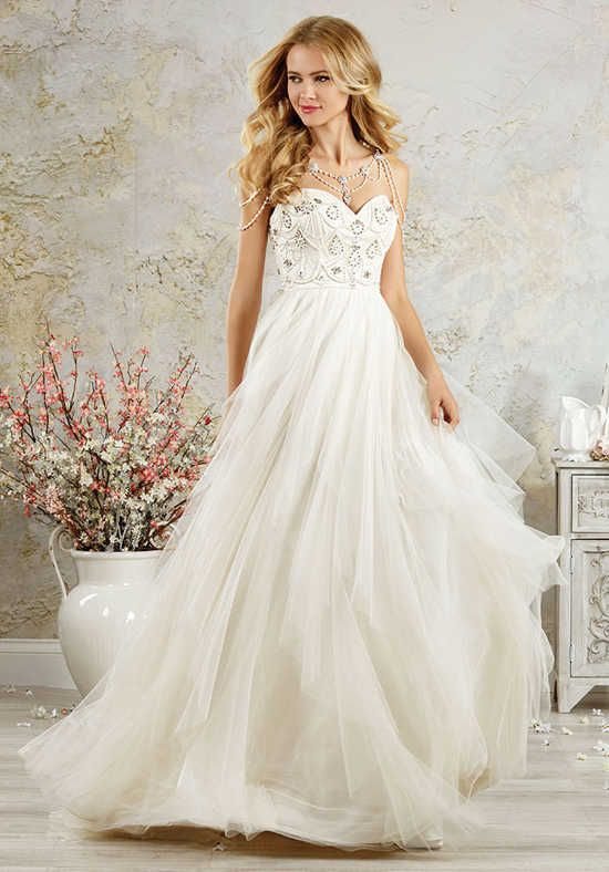 Alfred Angelo Modern Vintage Bridal Collection 5000 A-Line Wedding ...