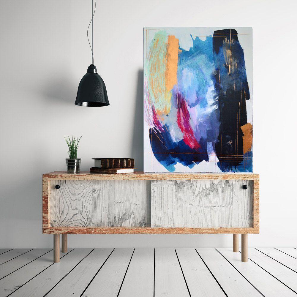 Big abstract art, large original abstract painting, contemporary art ...