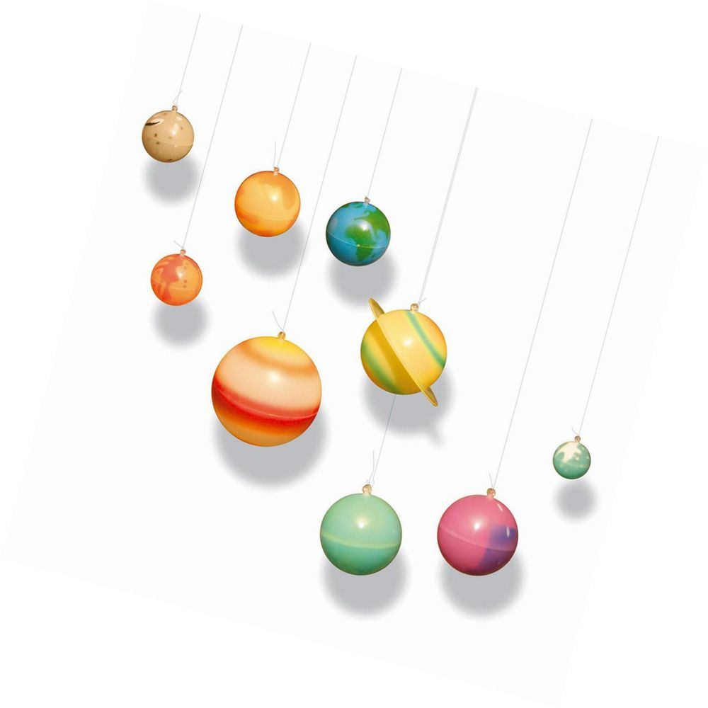 Solar System Glow In The Dark 9 Planets