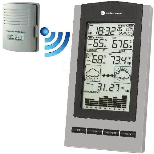 Ambient Weather WS-1171 Wireless Advanced Weather Station with - best of cole parmer temperature probe