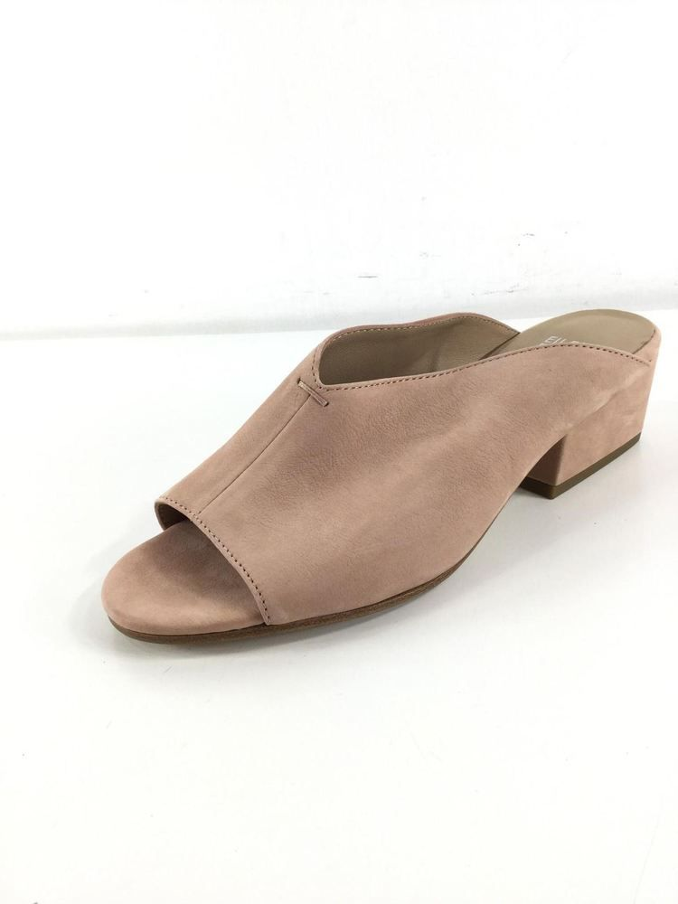 114e022e8b4e E5 NEW Eileen Fisher Katniss Toffee Cream Nubuck Leather Heel Mule Women s  Sz 7M  fashion  clothing  shoes  accessories  womensshoes  sandals (ebay  link)
