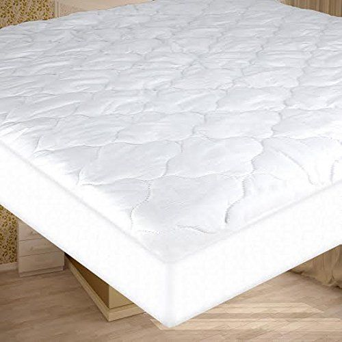 Fabugears Waterproof Quilted Mattress Pad Mattress Cover Protector For Camping Rv Mattress Crib Quilt Pad Cover