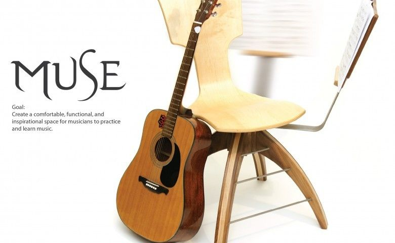Photo Chair Design Original Guitar Chair Muse Inspire Your