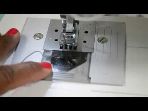 How To Fill Load Bobbin For BROTHER JX40 YouTube Oh Brother Impressive How To Setup A Brother Jx2517 Sewing Machine