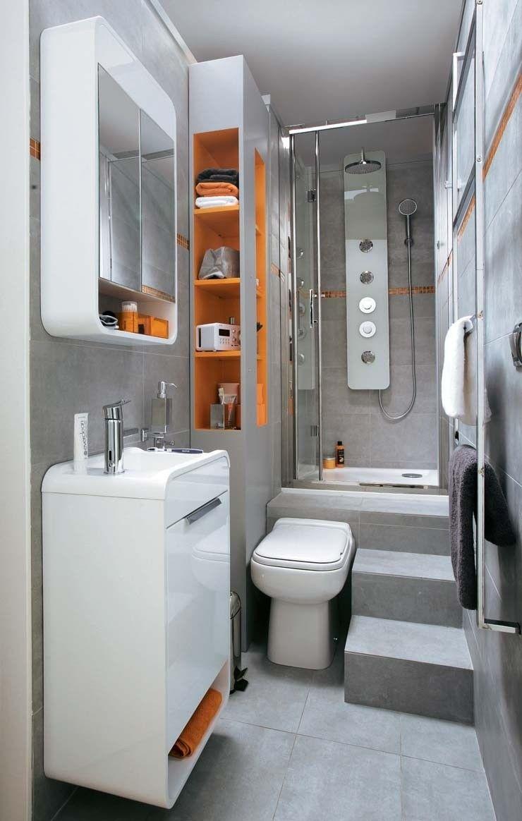 Photo of Come rendere più grande un bagno piccolo e lungo