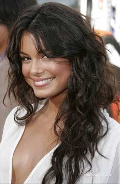 Wavy With Long Layers Haircuts For Wavy Hair Curly Hair Styles Long Wavy Hair