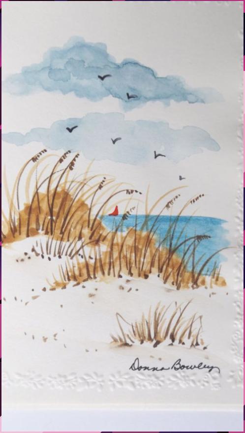 Landscape Beginner Friendly Watercolor Ideas The Adventures Of Lolo