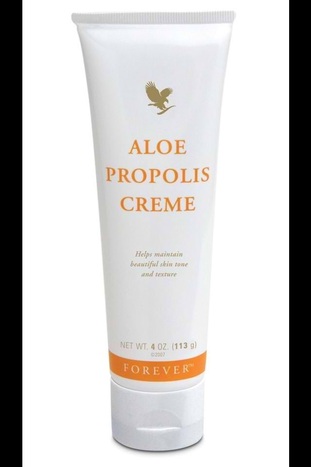 Forever Living Aloe Propolis Creme is great for very rough