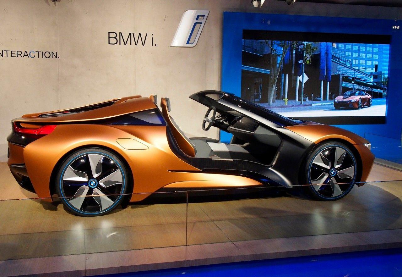 Bmw I8 Spyder I Vision Concept Shows Off Future Tech Bmw Toyota