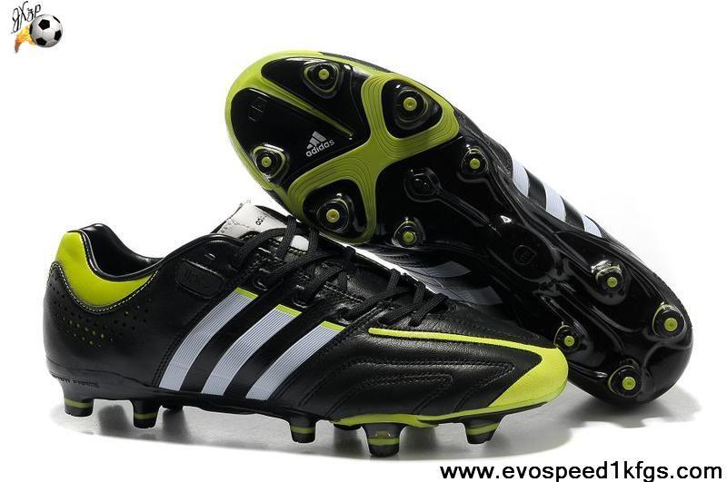 da215db52 Buy New Black-Running White-Slime Adidas Adipure 11Pro TRX FG Soccer Boots  For Sale