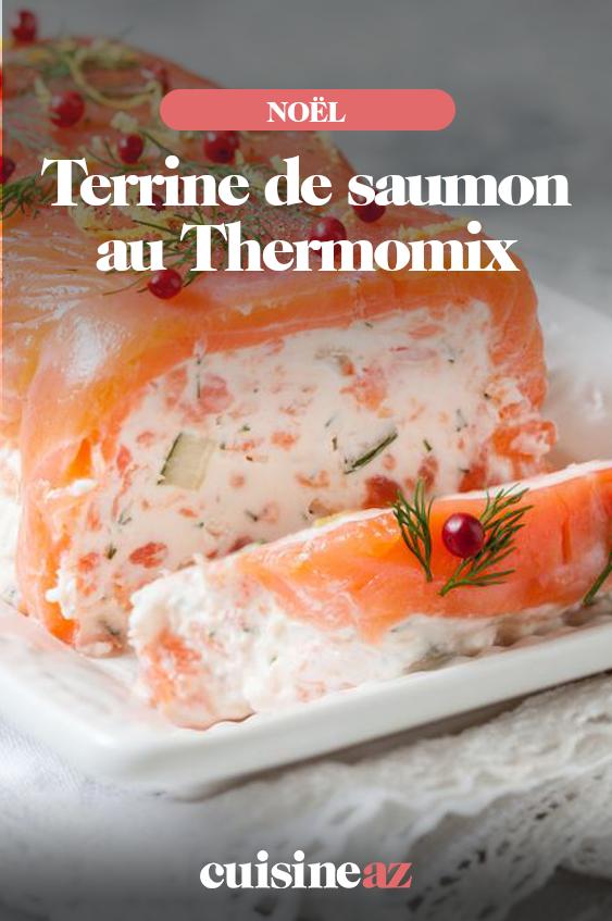 terrine de saumon au thermomix