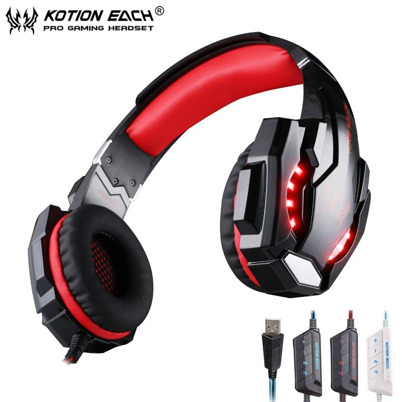 Kotion Each G9000 71 Surround Sound Gaming Headphone Game Stereo