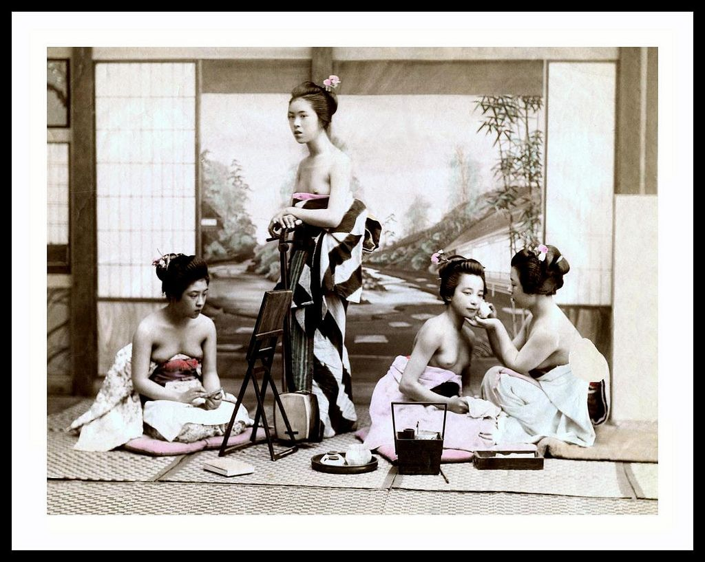 Japanese geisha topless, free nude french girls videos