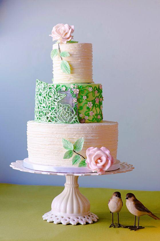 Secret Garden Cake by Wendy Woo Cakes