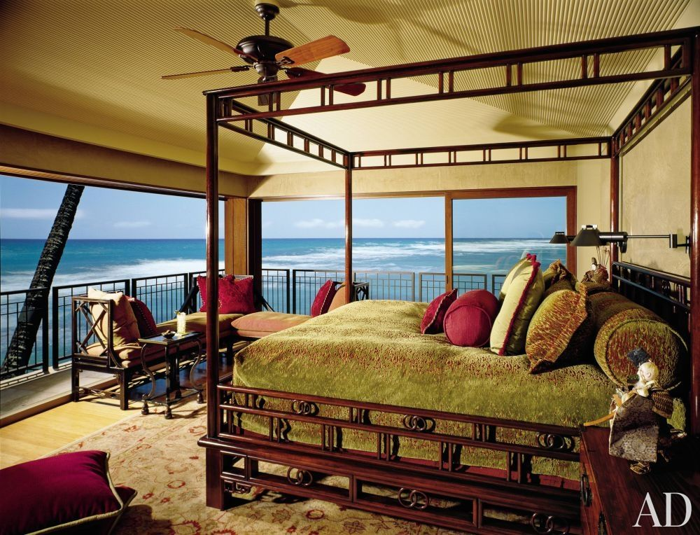 High Quality Exotic Bedroom By Jacques Saint Dizier And Donald Botsai In Oahu, Hawaii