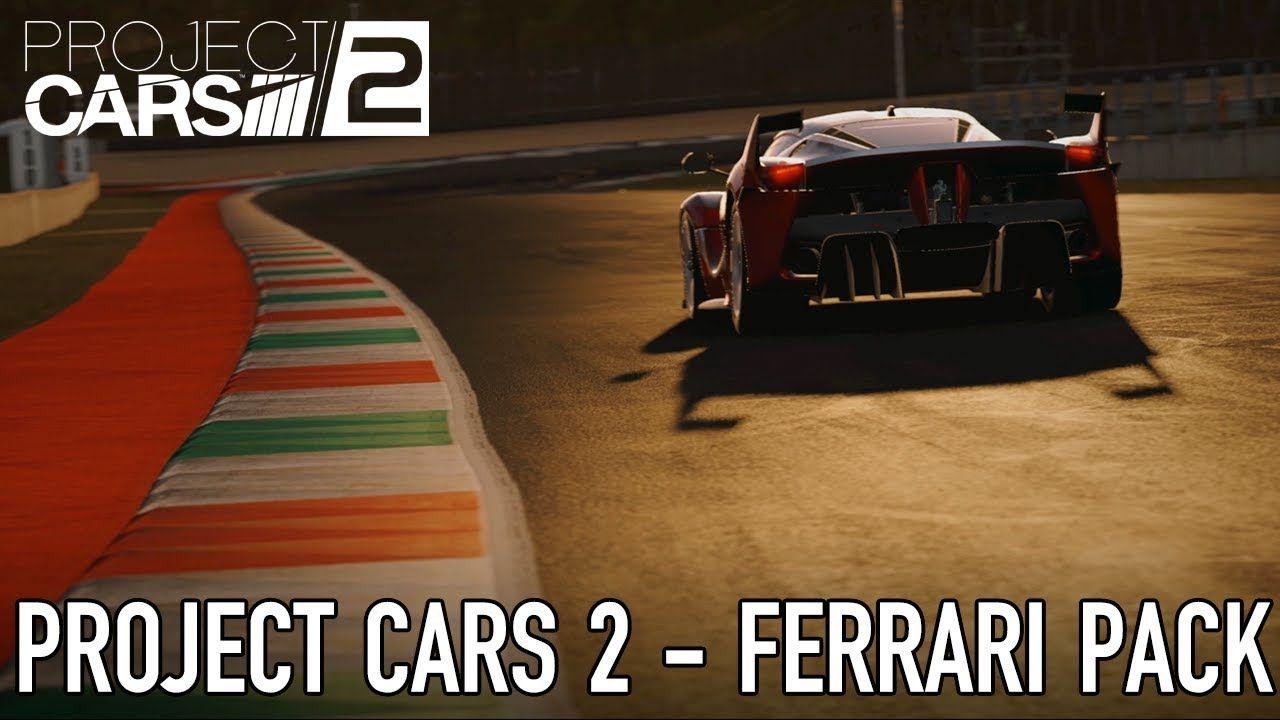 Project Cars 2 Ps4 Xbox1 Pc Ferrari Essentials Dlc Launch