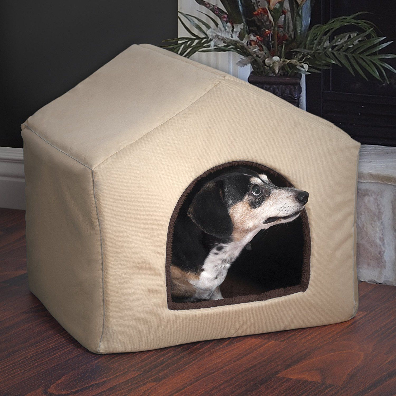 PAW 2in1 Dog House Pet Bed * Check this awesome image