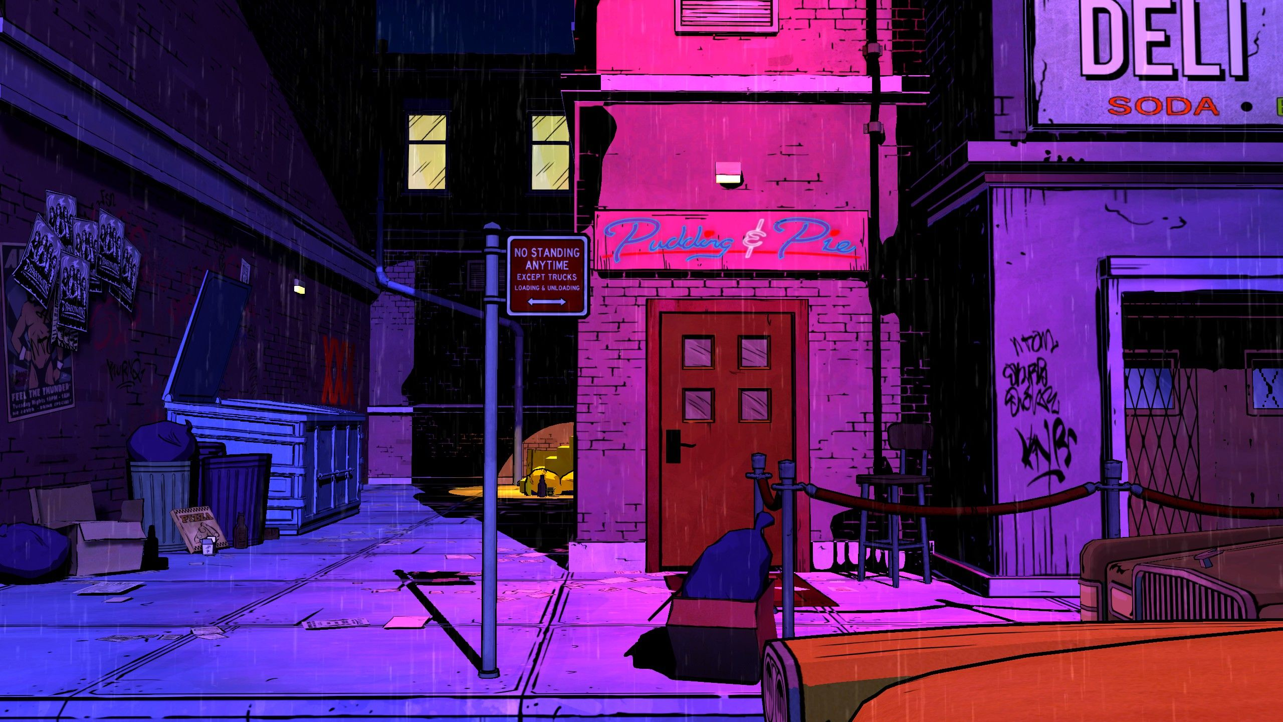 Pin By Katie Wells On My Video Game The Wolf Among Us Fantasy Landscape Street Scenes