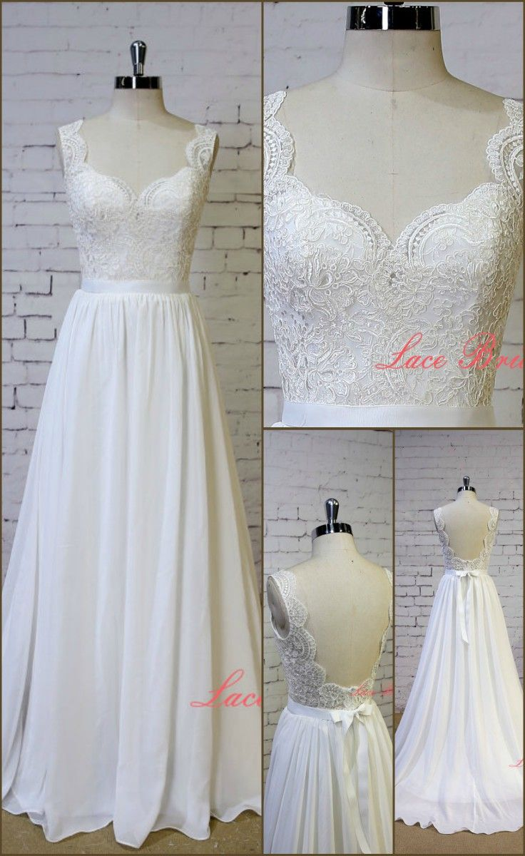 Exquisite lace wedding dress this dress has a beautifully detailed