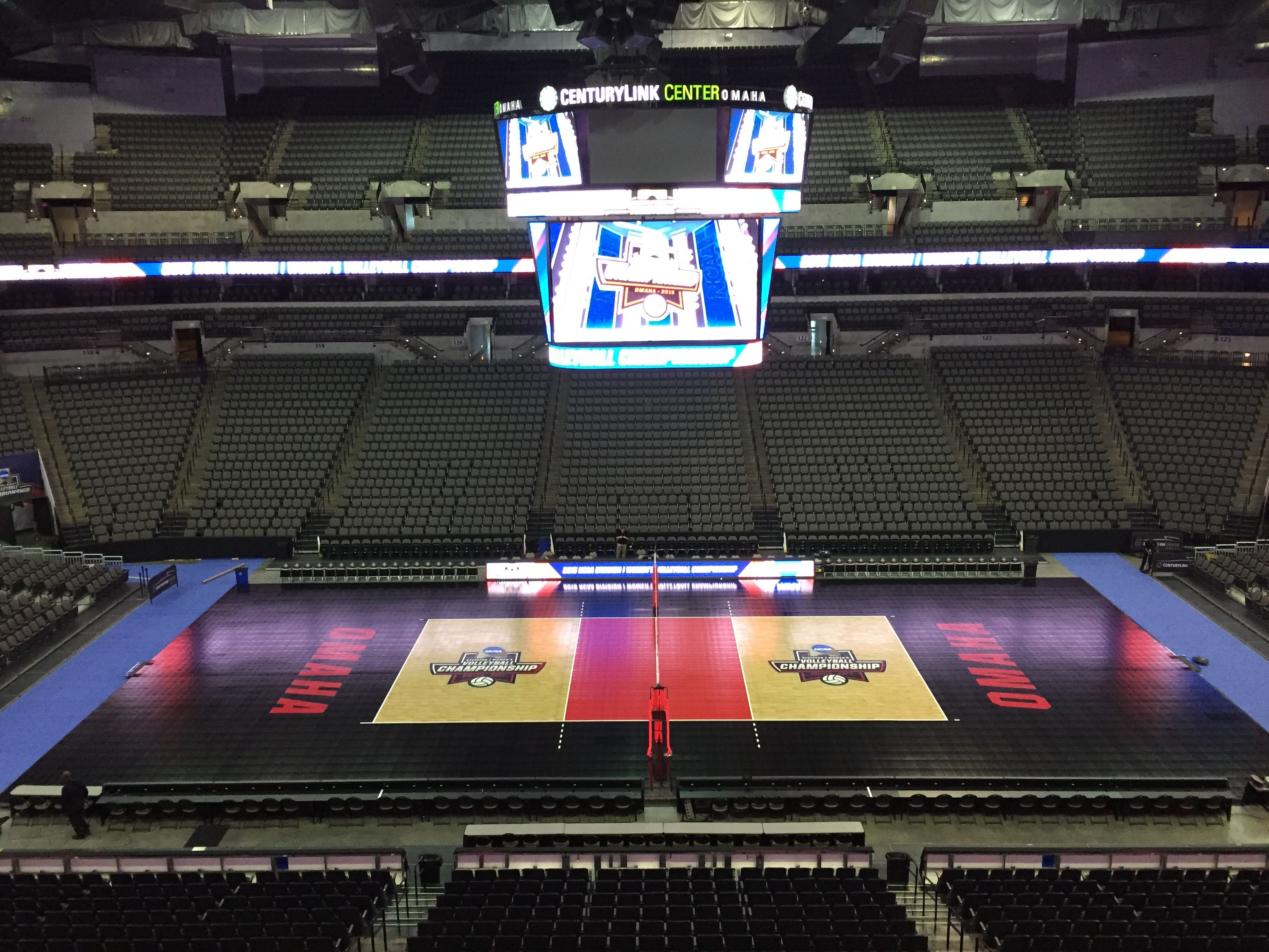 The 2015 Ncaa Di Volleyball Championship Sport Court Sports Court Flooring Home Basketball Court Sport Court