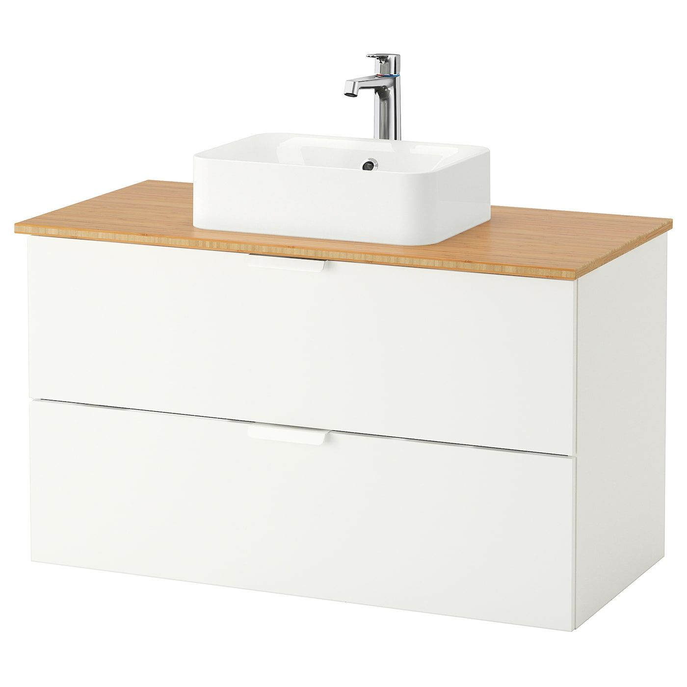 Ikea Godmorgon Tolken Horvik Bathroom Vanity White Bamboo