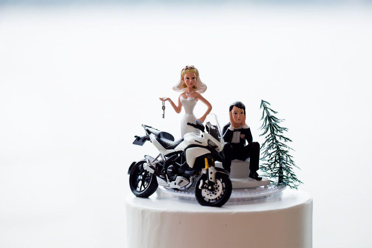 Biker Wedding Dresses Dekstop Wallpaper With Bike Cake Decorations ...