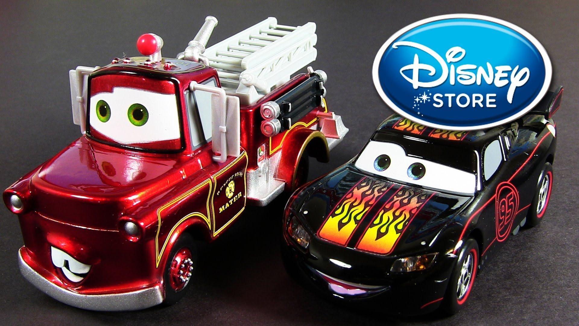 Hot Rod Lightning McQueen and Rescue Mater Disney-Store