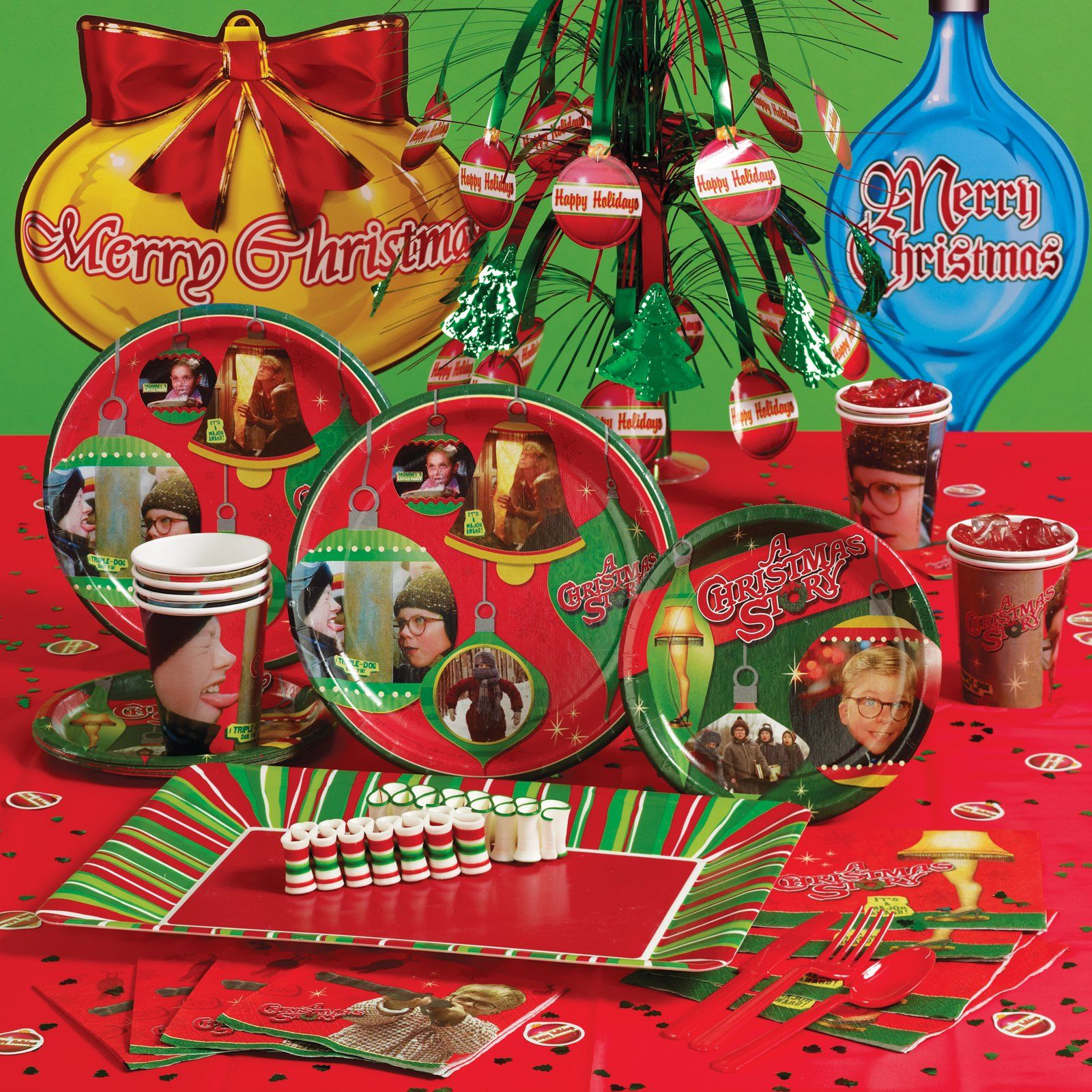 A Christmas Story Party Supplies