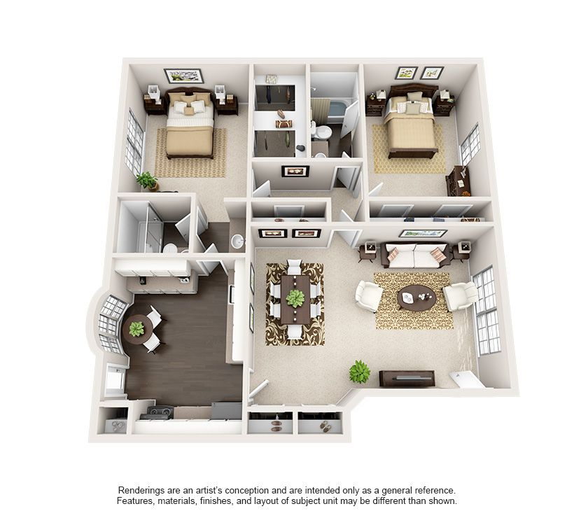 Pet-Friendly 1, 2, And 3 Bedroom Apartments In Bellaire