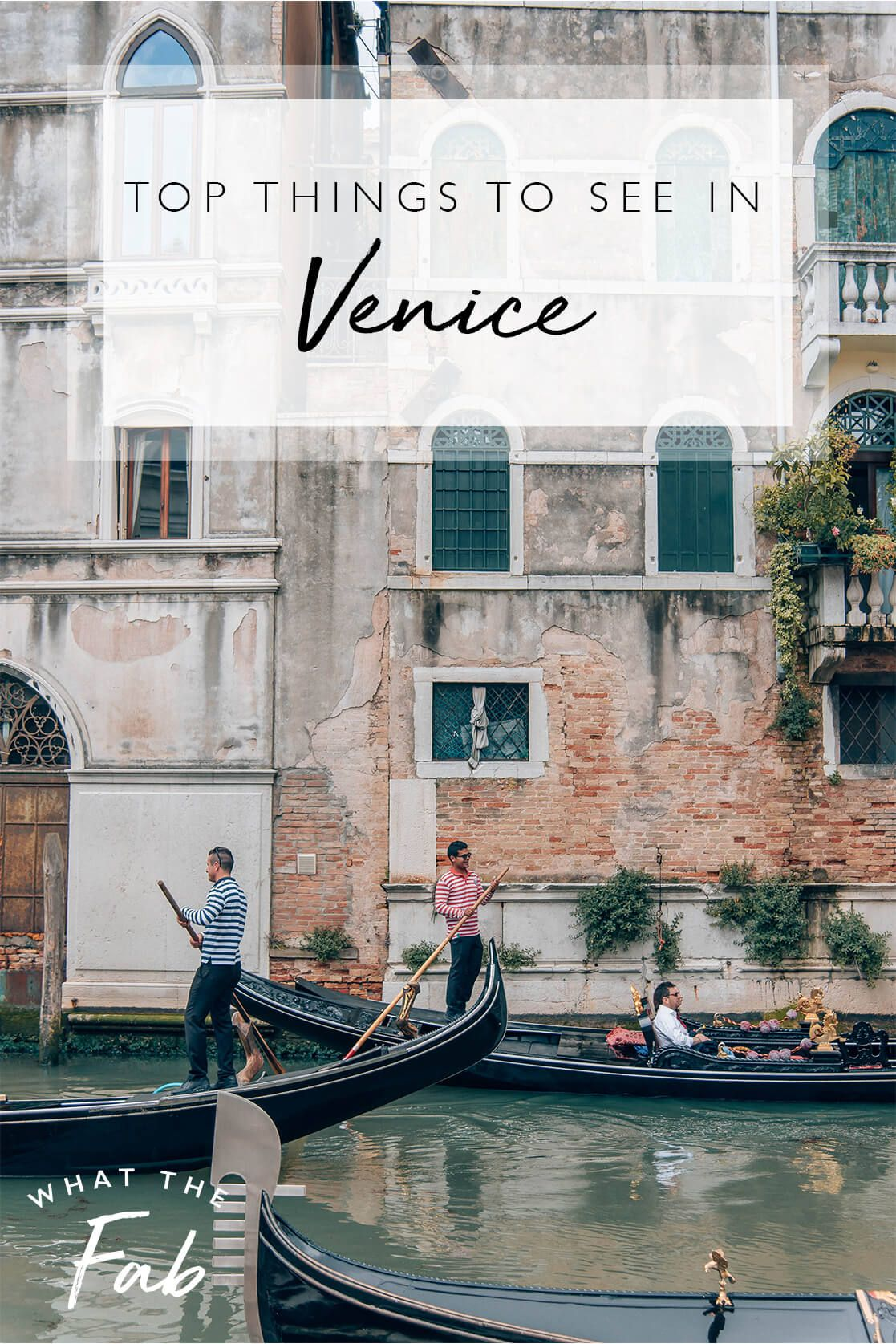 Photo of 15 Things You Must See in Venice: A Travel Guide | 2020