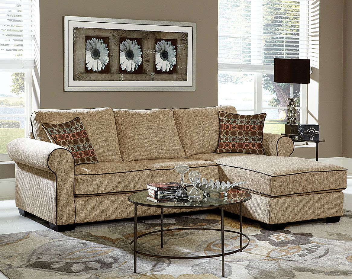 Radar Sand 2 PC Sectional Sofa