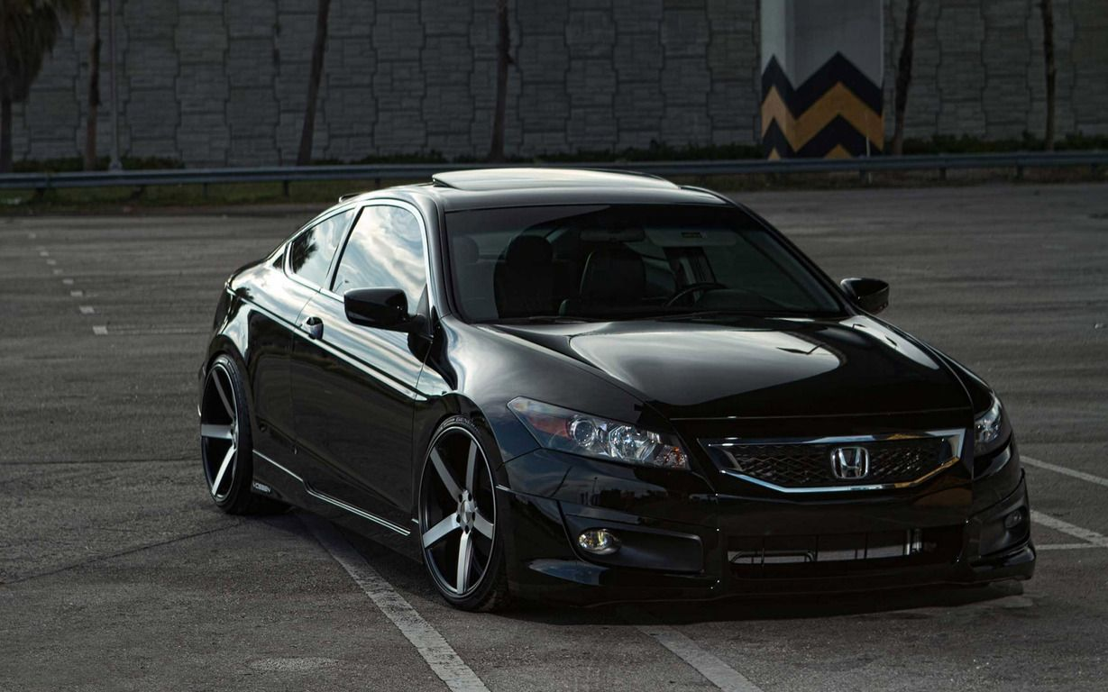 2014 Black Honda Accord Hd Wallpaper I Wantttt