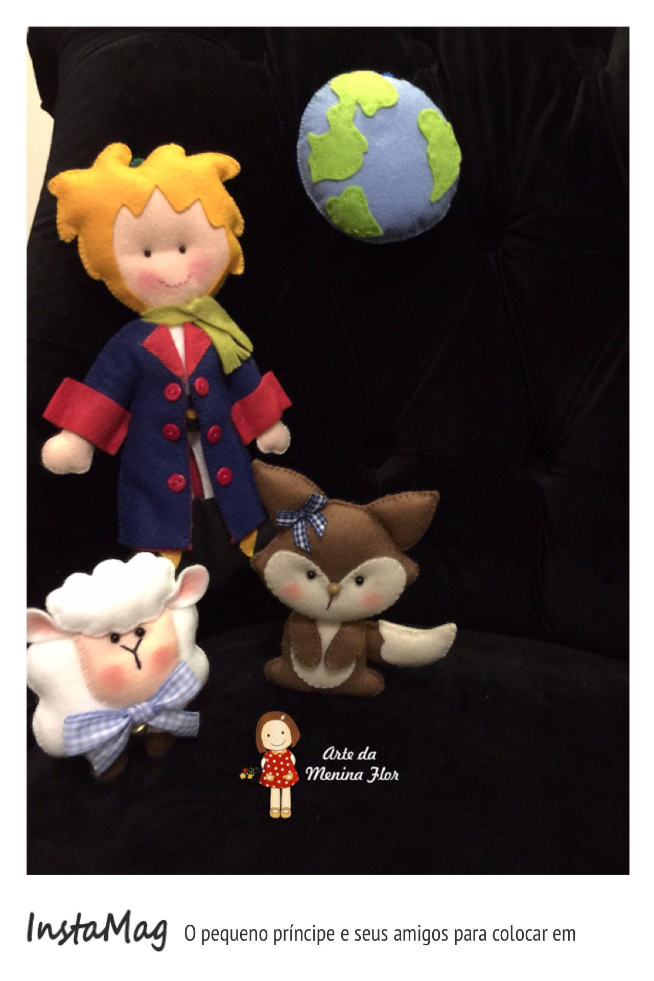 Pequeno príncipe e seus amados amigos