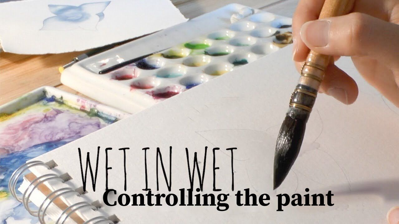 Watercolor Paintings Tutorials Image By Jean Kreider On Watercolor