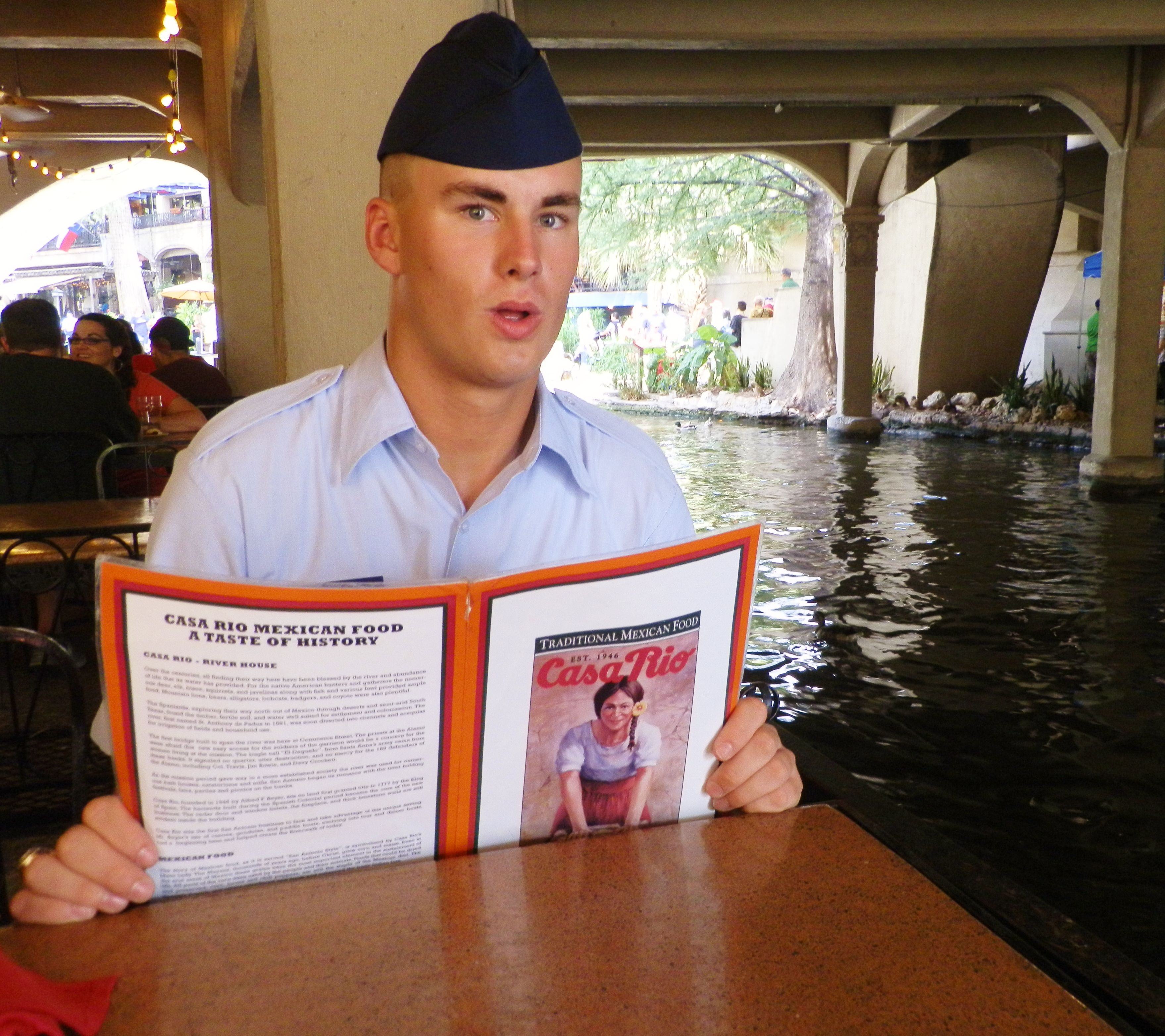 After Air Force graduation at Lackland Air Force Base, we