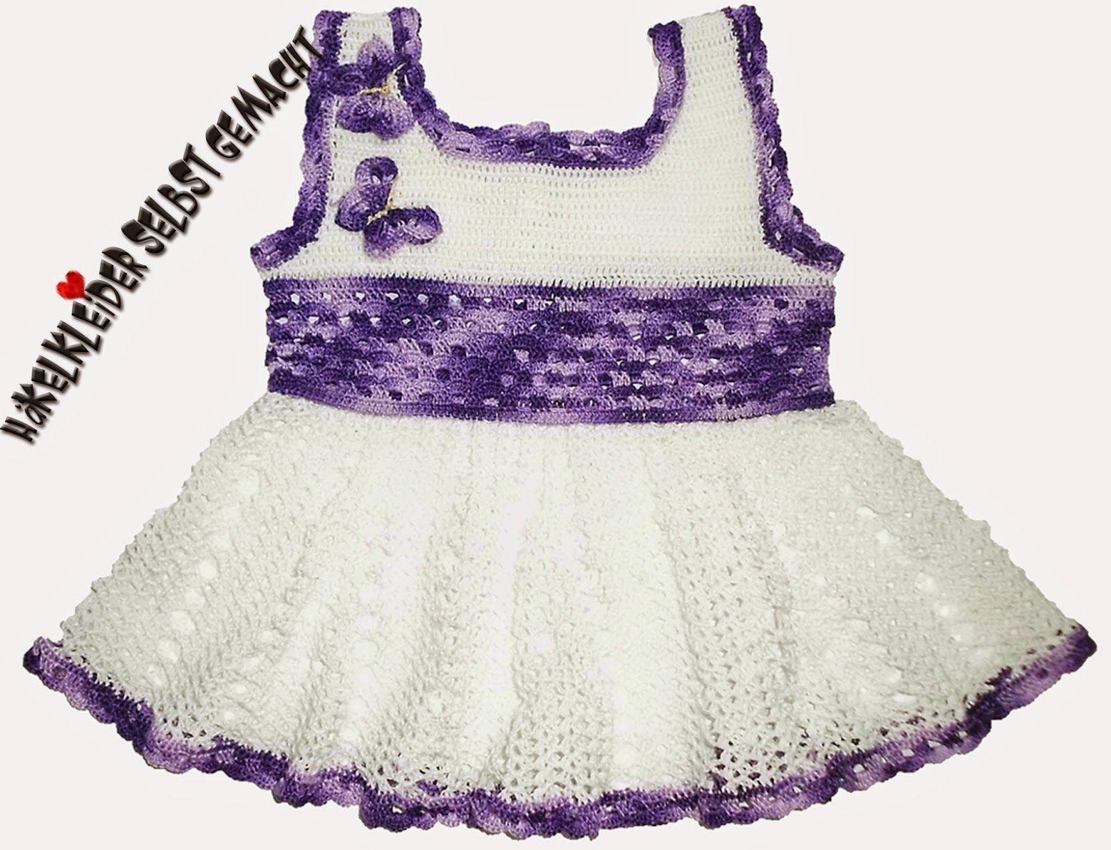 Gehäkeltes Baby Kinderkleid Ich bin Tante geworden und wie es sich ...