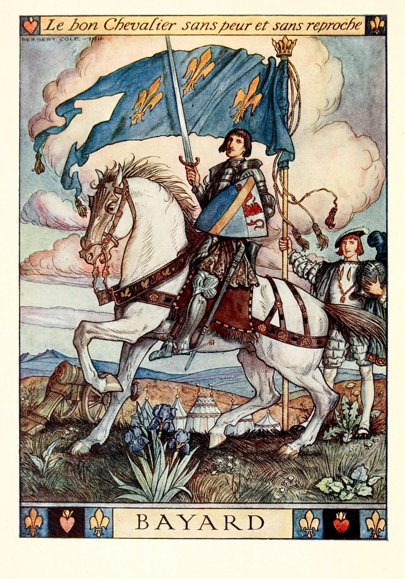 Sans Peur Et Sans Reproche : reproche, Herbert, Illustrations:, Story, Bayard, Knight,, Bayard,, Knight