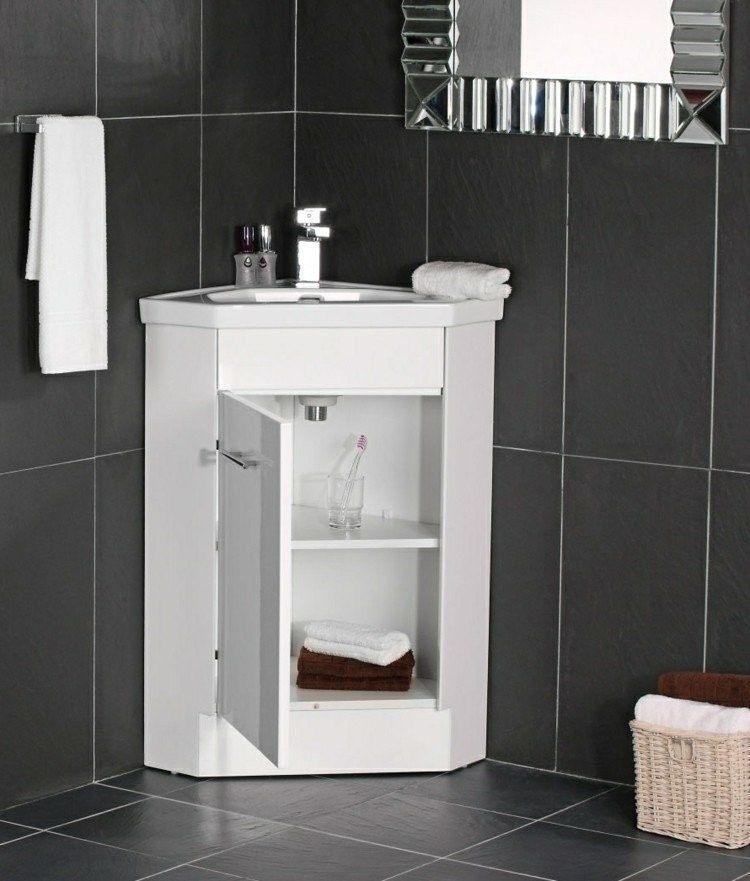 vasque d angle avec meuble 16 Décontractée Meuble De Salle De Bain D Angle Avec Vasque Coups