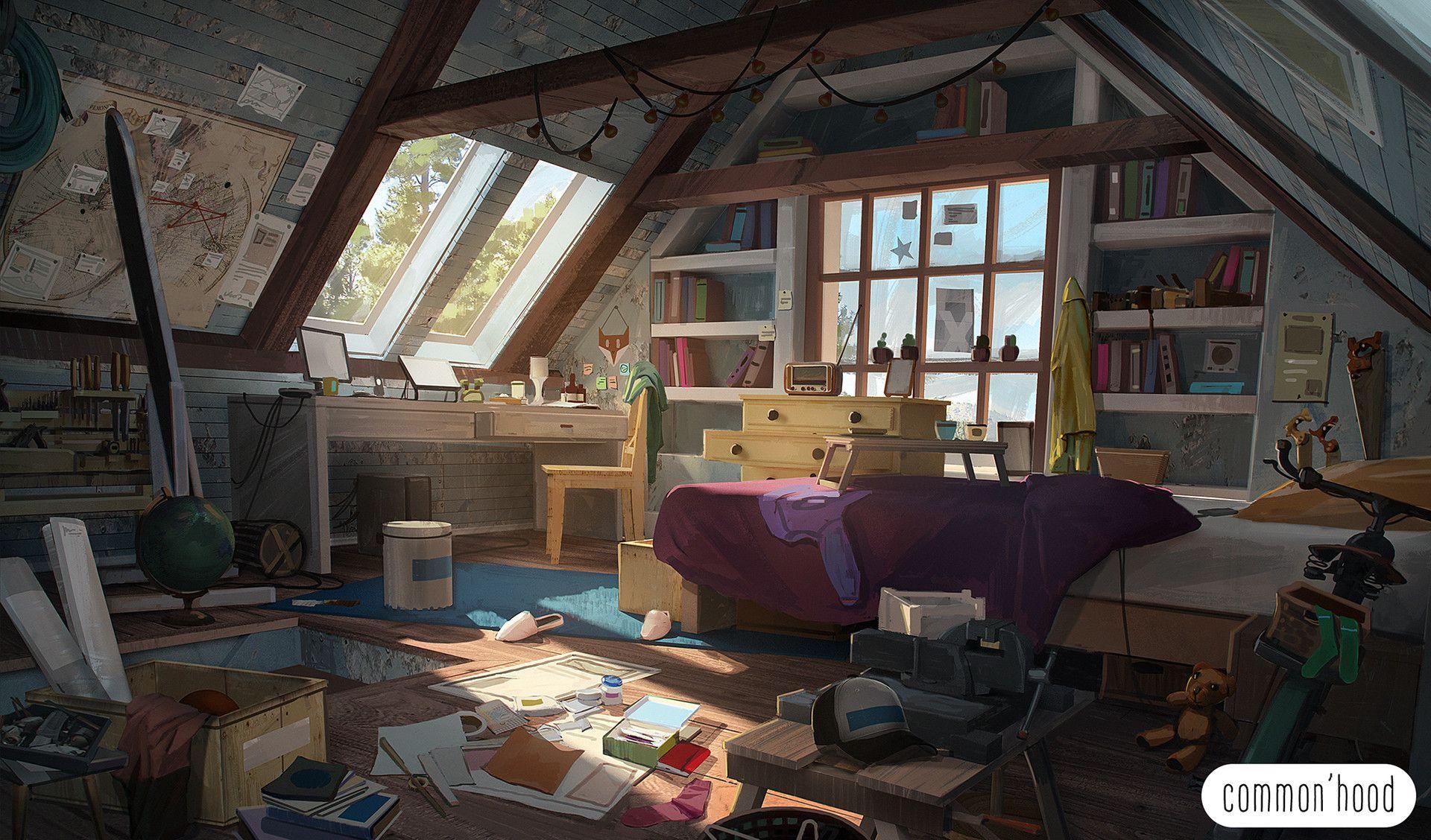 Not Real But Still Cozy 1920 X 1128 Check Out Desigedecors Com To Get More Inspiration Inte Artstation Concept Art Pixar Concept Art Environment Concept Art